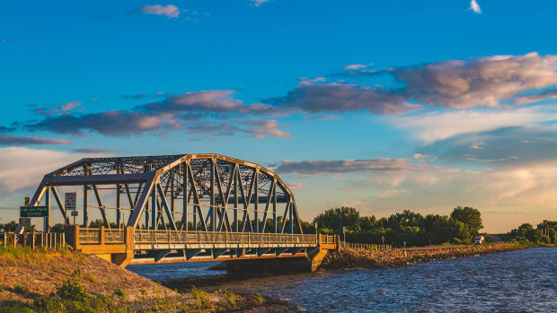 Milan Bridge, Lac Qui Parle Lake