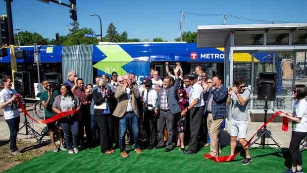 Launch of Metro Transit's C Line
