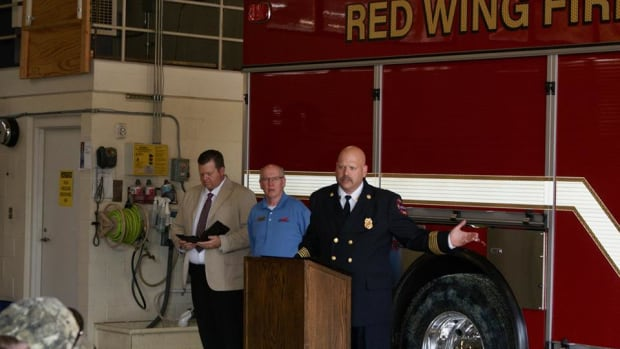 Red Wing Fire Chief Shannon Draper.