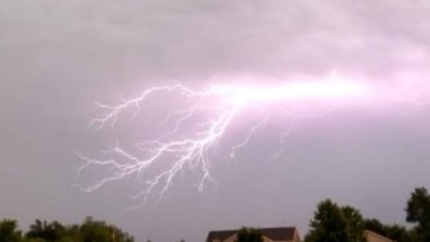 storms, lightning