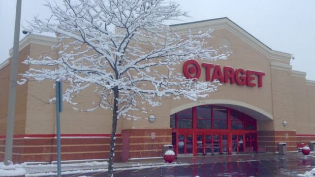 Target store snow