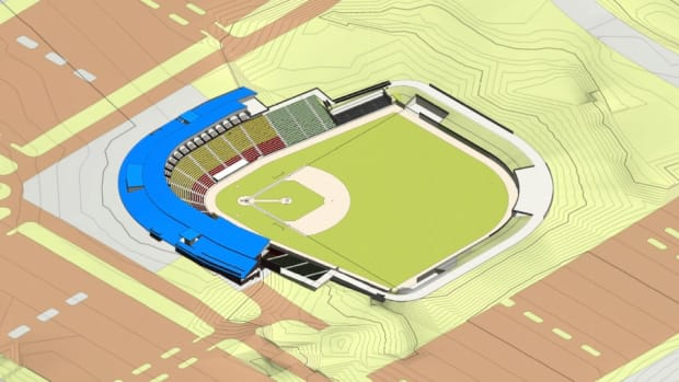 proposed ballpark in Shakopee