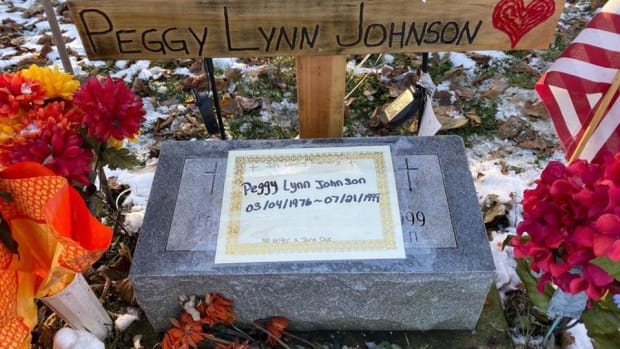Grave of Peggy Lynn Johnson
