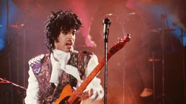 "Still from ""Purple Rain."""