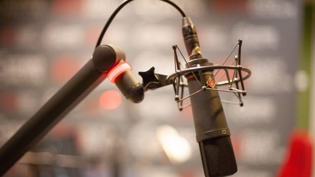 radio station, microphone