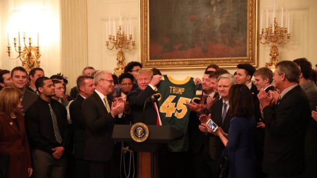 NDSU Football at the White House 2019