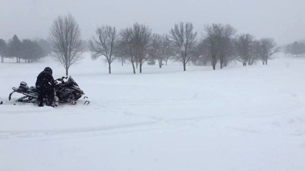 Golfing in Minnesota in March