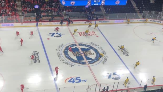 state hockey tournament, mshsl