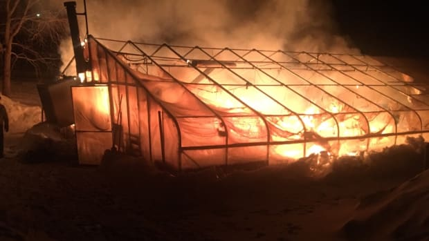 greenhouse fire