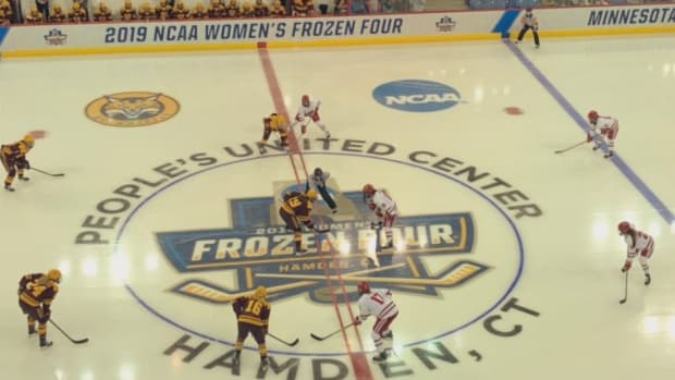 Frozen Four, Gopher women's hockey