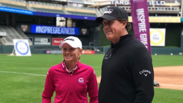 Phil Mickelson and Stacy Lewis