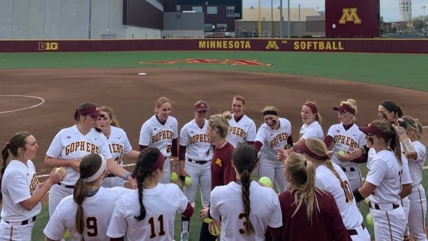 Gopher softball