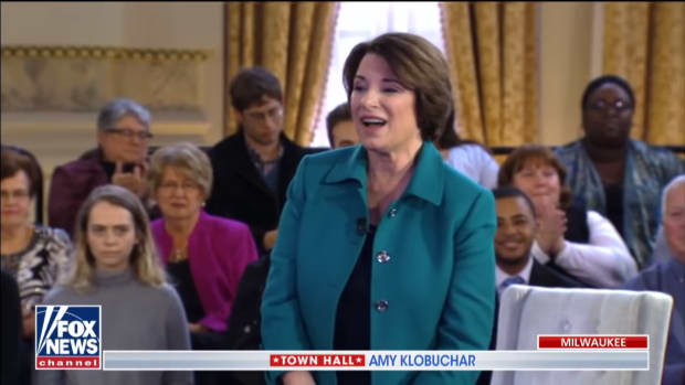 klobuchar fox news town hall screengrab