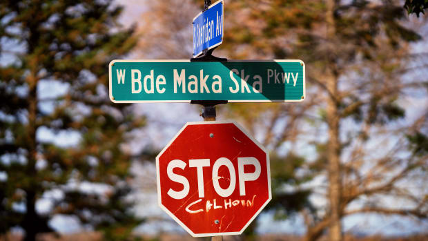 West Bde Maka Ska Parkway, West Maka Ska/Calhoun neighborhood.