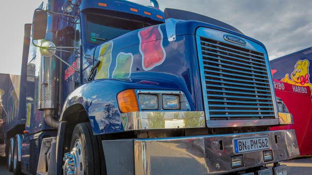 Freightliner tractor truck