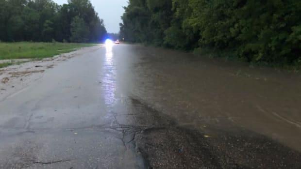 Hwy. 93 flooding