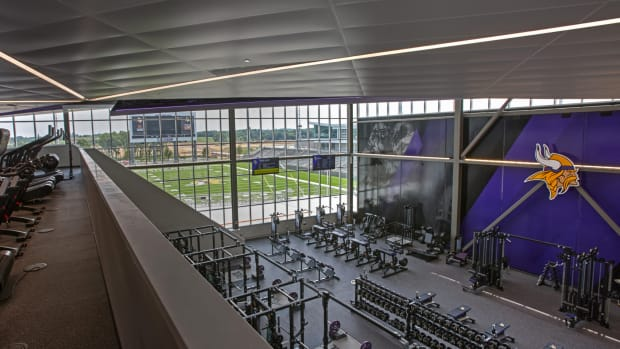 TCO Performance Center, Vikings weight room