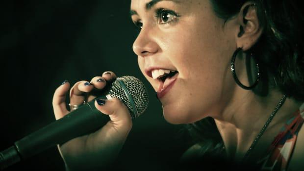 Singer microphone