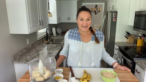 Lindsay Guentzel's Banana Pancake recipe