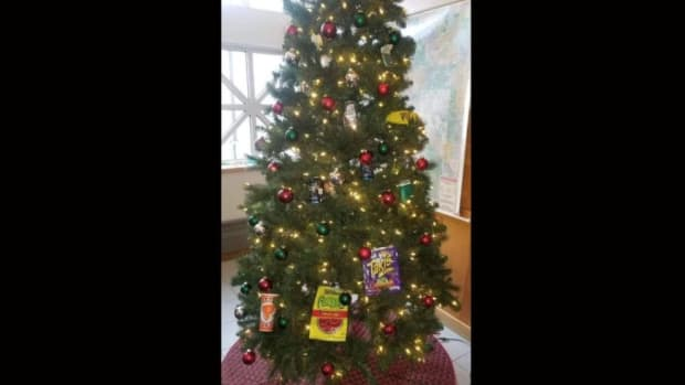 Racist Christmas tree