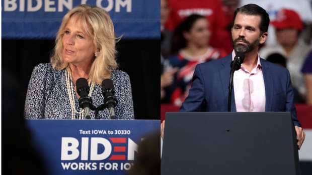 jill biden and donald trump jr