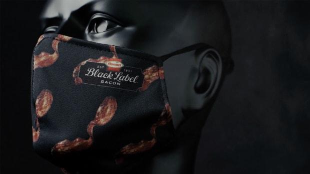 bacon facemask