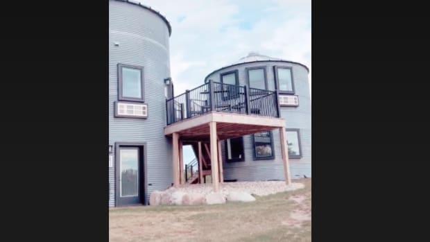 grain bin houses airbnb