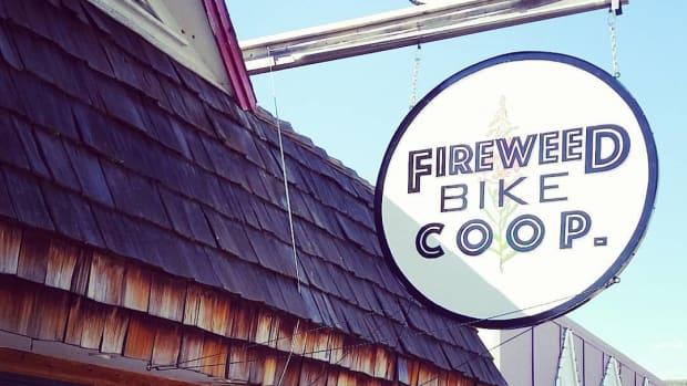 firewood bike coop