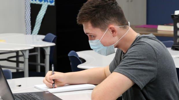 coronavirus, students, masks