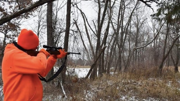 Deer hunting blaze orange