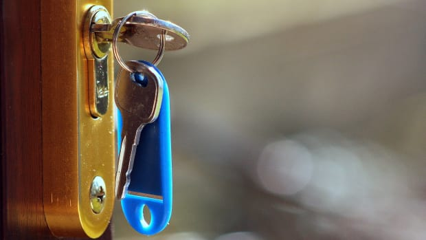Rent, mortgage, house, key, door