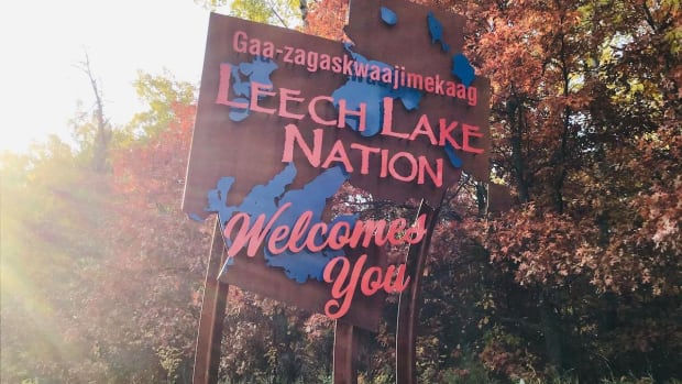 leech lake band of ojibwe sign