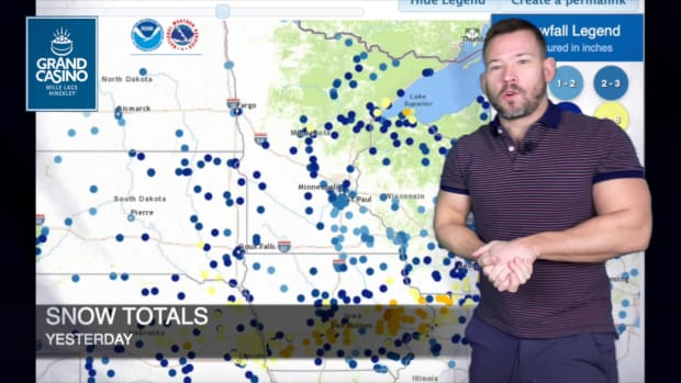 Dec. 30 Weather with Sven: New Year's Day storm to miss