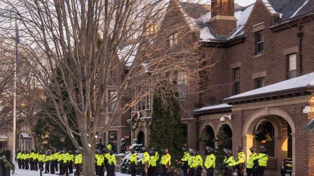 state patrol at governor's residence jan 6 2020
