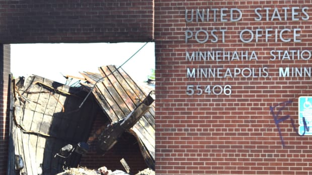 Minnehaha post office
