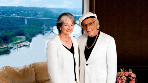 Helene Houle and John Nasseff.