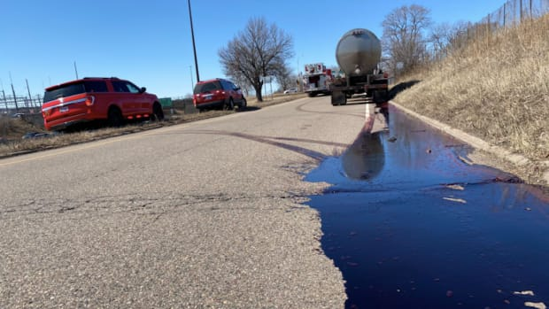 Blood spill on I-494