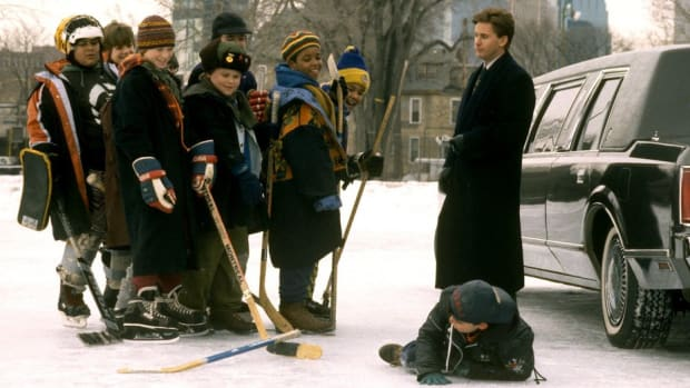 Still from The Mighty Ducks.