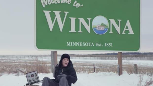 Winona Ryder ad.