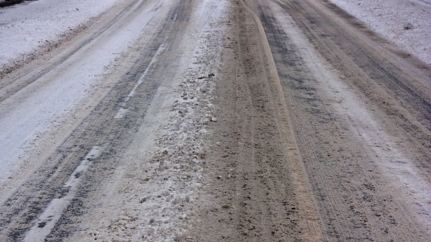 icy roads, bad roads