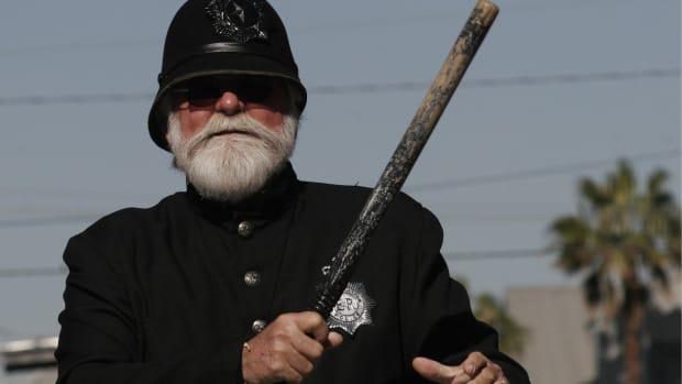 bearded cop