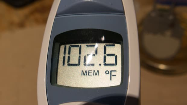 Fever thermometer flu coronavirus