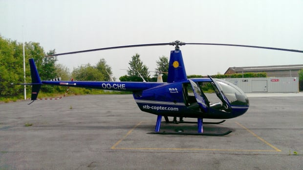 helicopter, Robinson R44