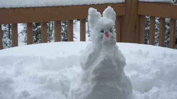 snow, easter