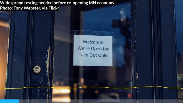 Walz: Need widespread testing before re-opening MN economy