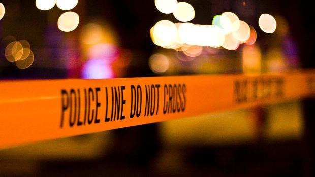 police tape, crime scene