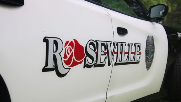 Roseville Police cruiser