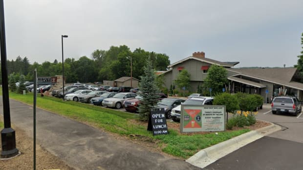 Birch's on the Lake in Wayzata will begin showing movies in its parking lot.