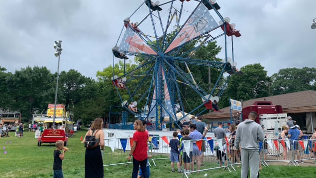 The Ferris wheel at the 2019 Lake Minnetonka Fourth of July Celebration in Excelsior.