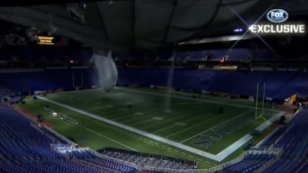Metrodome collapse